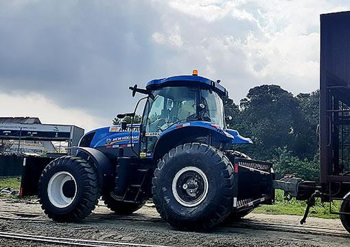Trator de rodas - New Holland T7205