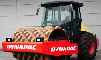 Rolo compactador pata de carneiro - Dynapac CA250